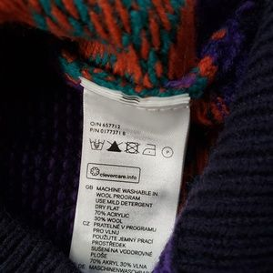 H&M Sweaters - H & M Colorful Stripe Wool Blend Sweater sz Small